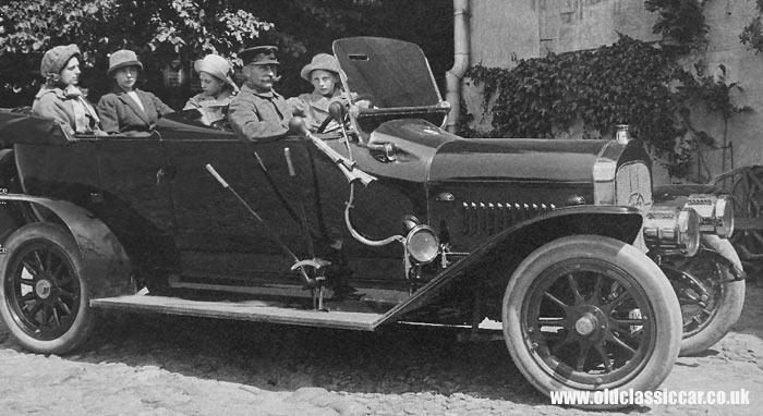 1915 hansa type E