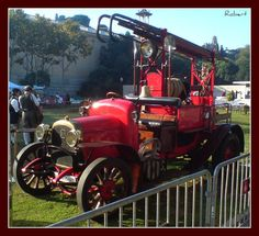 1922 Delahaye 'Genoveva' fire truck