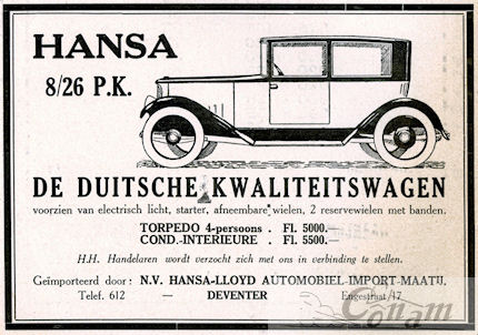 1922 hansa lloyd 1