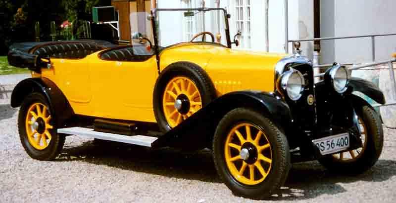 1925 Delahaye Tourer F