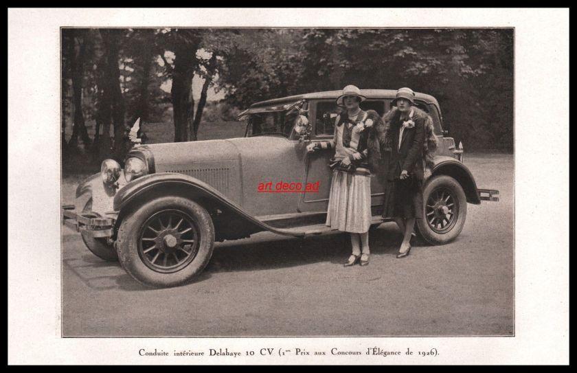 1926 Delahaye 10cv
