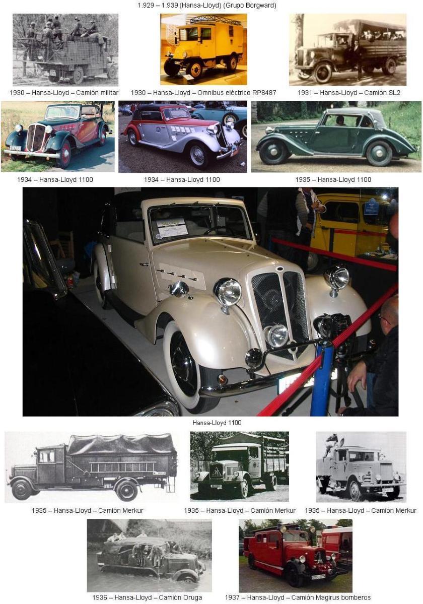 1929-39 HANSA-03 (Hansa-Lloyd) (Grupo Borgward)