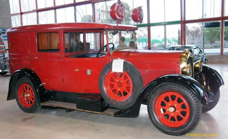 1930 Delahaye Six cylinder Madrid