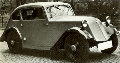 1931 Hansa 500 L3- the first model produced after the Borgward-Goliath takeover