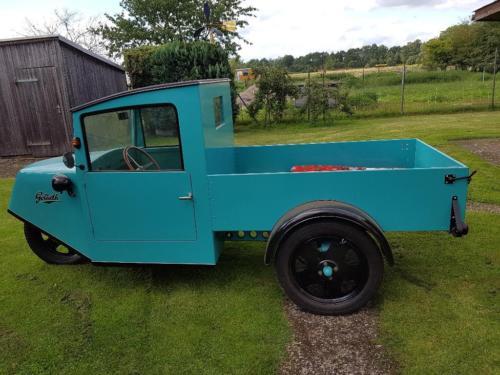 1933 Borgward Goliath Lloyd dreirädriger Lieferwagen