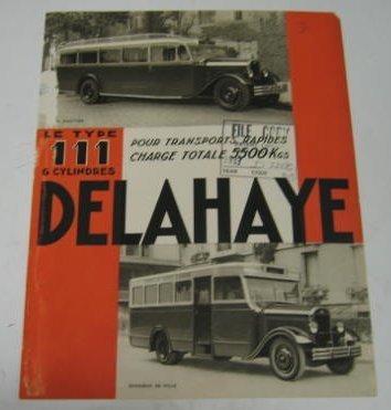1933 Delahaye Boek 1933