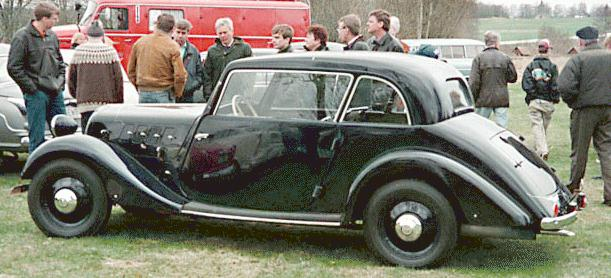 1934-39 Hansa 1100, gebouwd als two door limousine