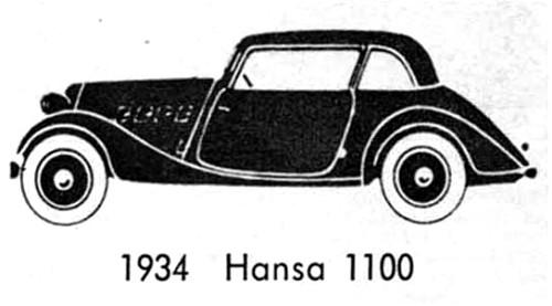 1934 hansa 1100