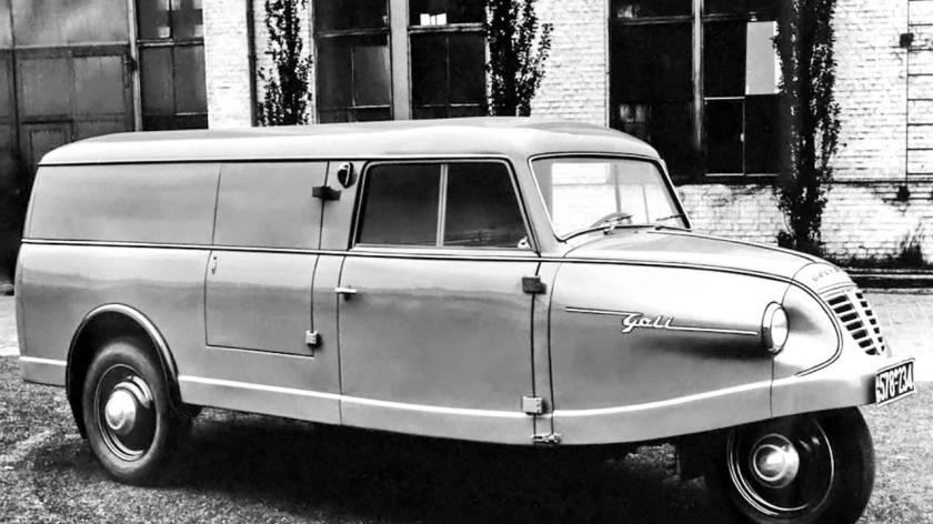 1935-41 Goliath GOLI Kastenwagen