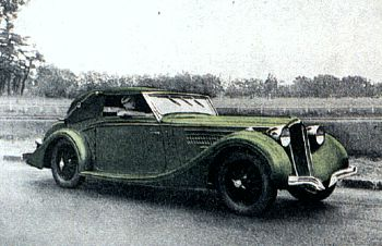 1935 Delahaye 135 roadster