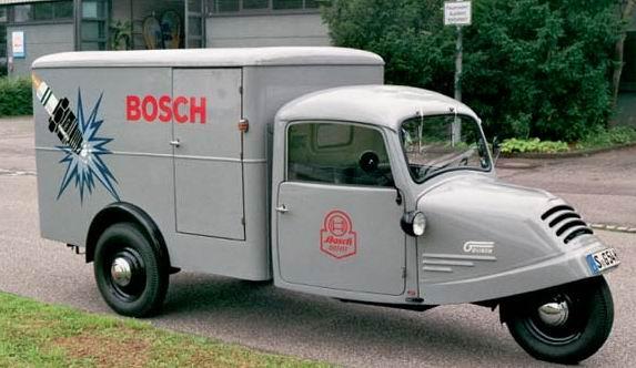 1935 Goliath Dreirad GD 750 Kofferaufbau BOSCH