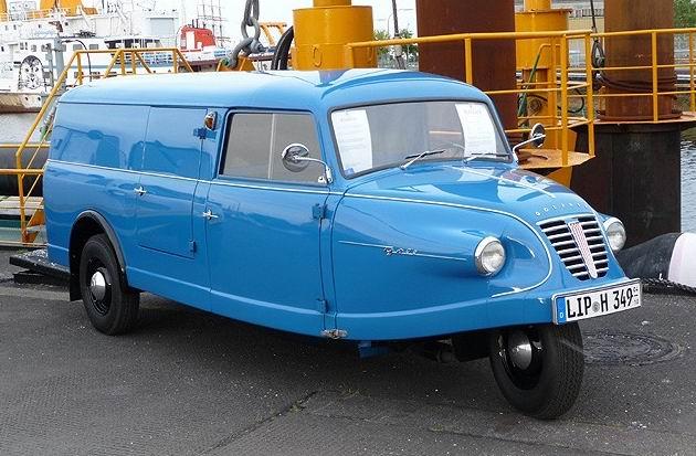 1935 Goliath-Goli-Dreirad-Kasten-blau
