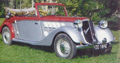 1935 Hansa H 1700 Cabriolet