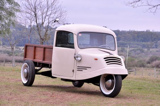 1935 TRICICLO BORGWARD GOLIATH