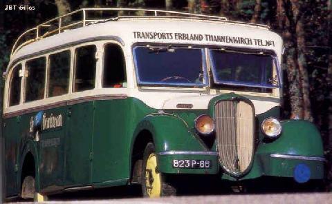 1936 Bus Delahaye 140
