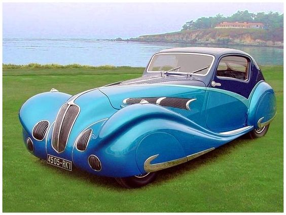 1936 Delahaye 135 Competition Court by Figoni & Falaschi