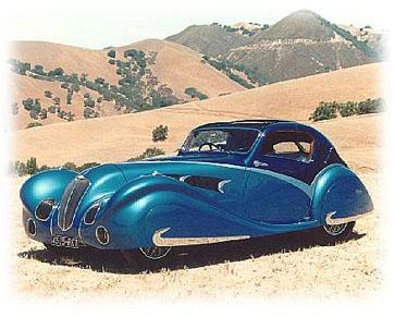 1936 Delahaye 135 competition court