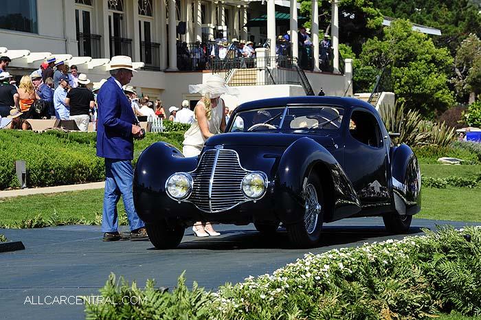 1936 Delahaye 135 MS Pourtout Coupe Aerodynamique