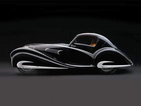1936 Delahaye 135M Figoni & Falaschi Competition Coupe