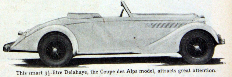 1936 Delahaye ad