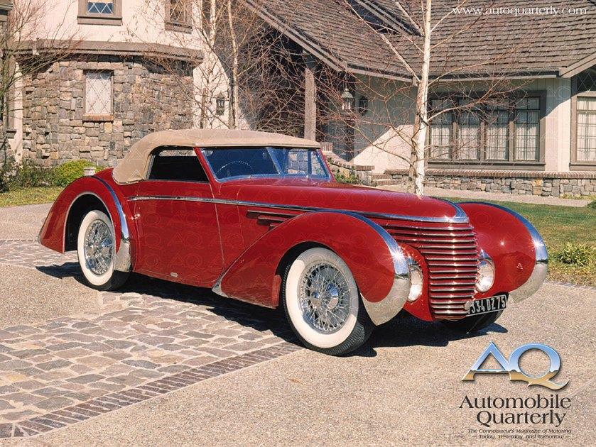 1936 Franay Delahaye 135 Convertible