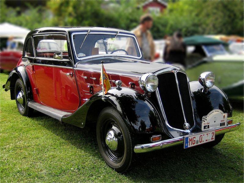 1937 Borgward Hansa 1100