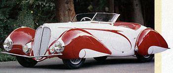 1937 Delahaye 135 competition figoni & falaschi nr676