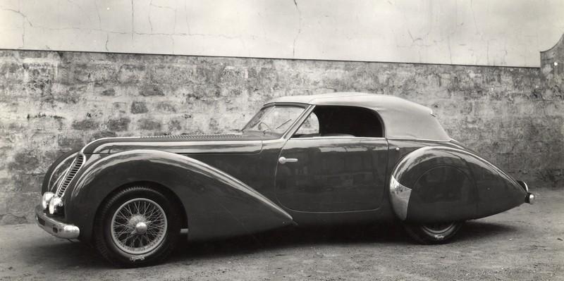 1937 Delahaye 135 MS Cabriolet Pourtout