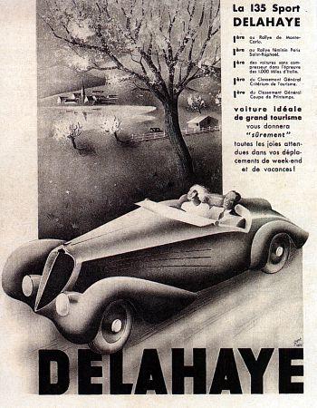 1937 Delahaye 135 sport roadster