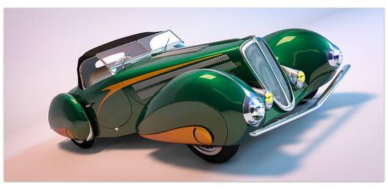 1937 Delahaye 135M Figoni
