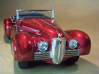 1937, Delahaye 135M Saoutchik Cabriolet