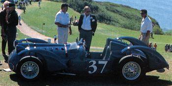 1937 Delahaye t145 roadster