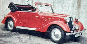 1937 hansa 1100 cabrio
