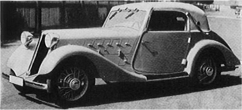 1937 hansa 1700 cabrio