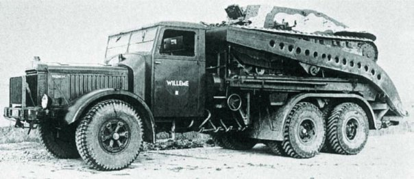 1937 Willeme DW-12A, 6x6
