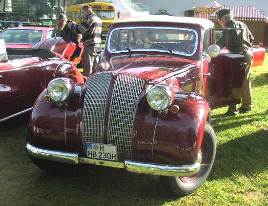 1938-39 Borgward MHV Hansa 2000 01
