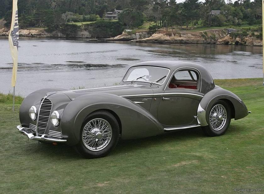 1938-46 Delahaye 145 Coupe Chapron.