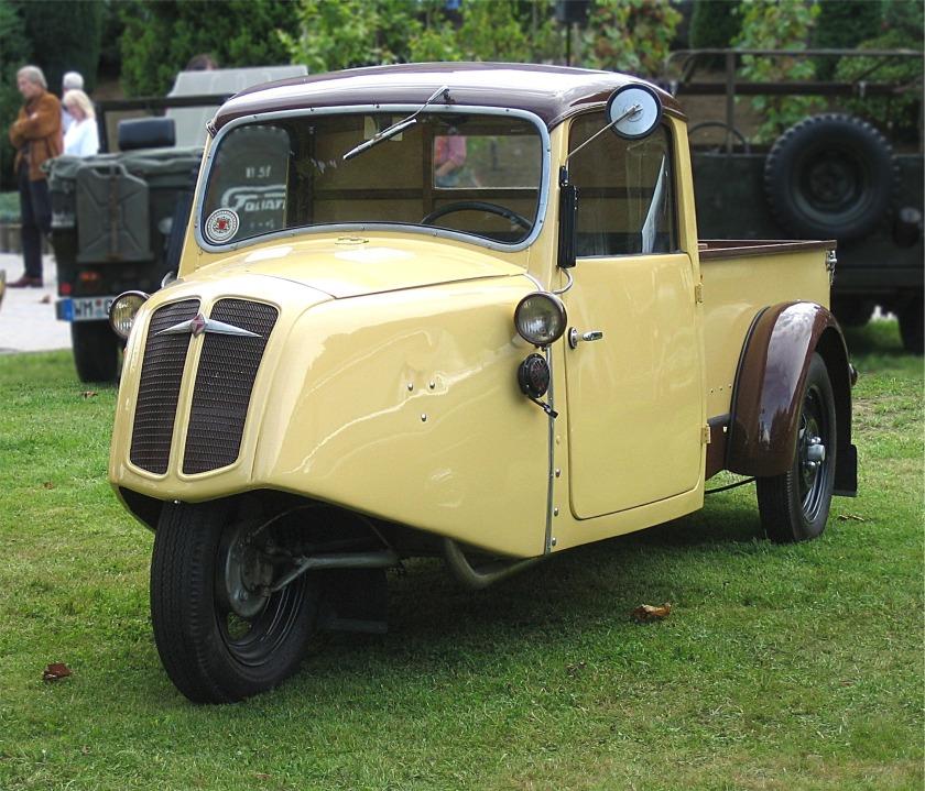 1938 Borgward FW 200, 199 cm³B