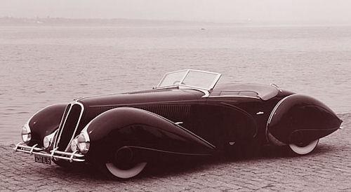 1938 Delahaye 135 figoni & falaschi