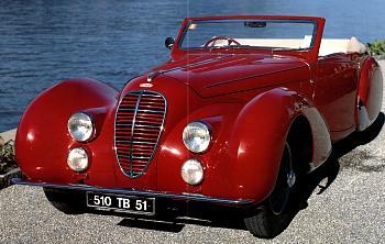 1938 Delahaye 135 ms cabrio
