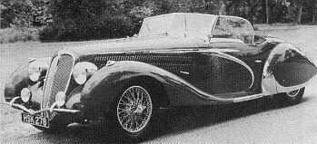 1938 Delahaye 135ms cabrio