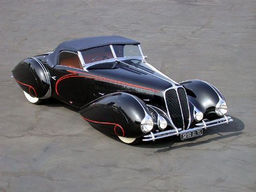 1938 Delahaye Type 135M Competition Roadster