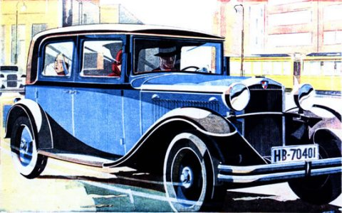 1938 Hansa Konsul
