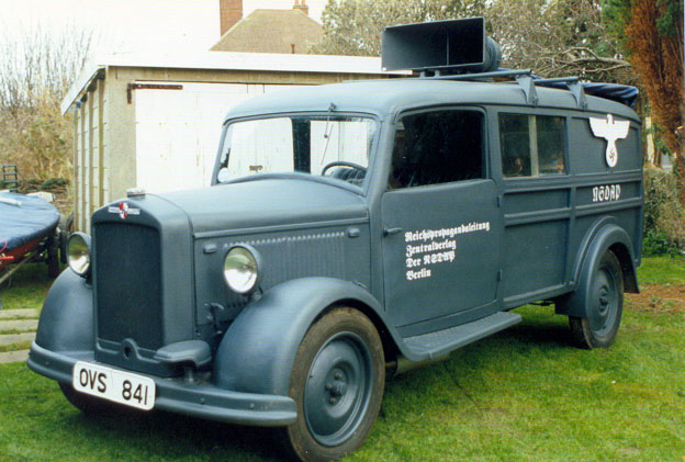 1938 Hansa Lloyd NSDAP Propoganda Vehicle 1938