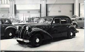 1939 Borgward 2300 kabriolet na IAA w Berlinie