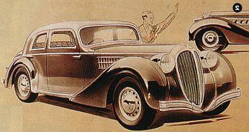 1939 Delahaye 134 G Berline