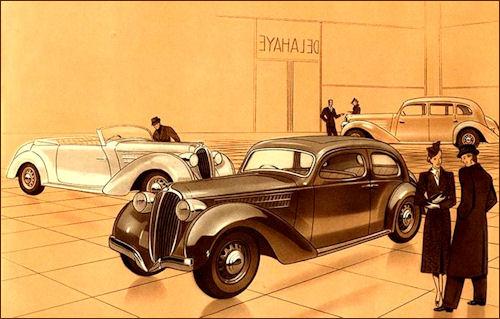 1939 Delahaye 134 G