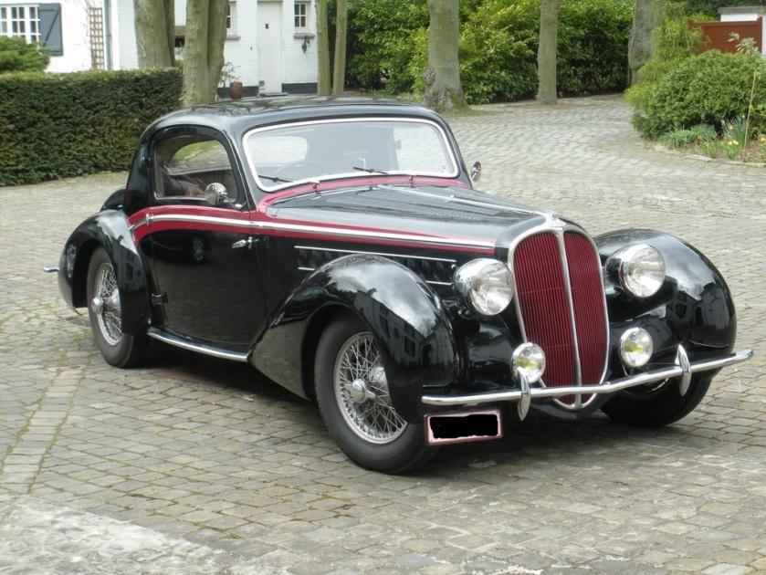 1939 Delahaye 135 M Chapron coupé