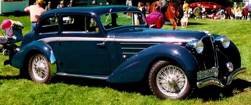 1939 Delahaye 135 M Coupe F