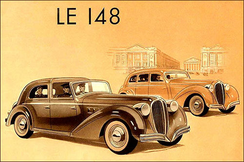 1939 Delahaye 148